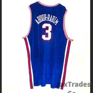 Vtg D'funked Reebok NBA Jersey Hawks Abdur-Rahim